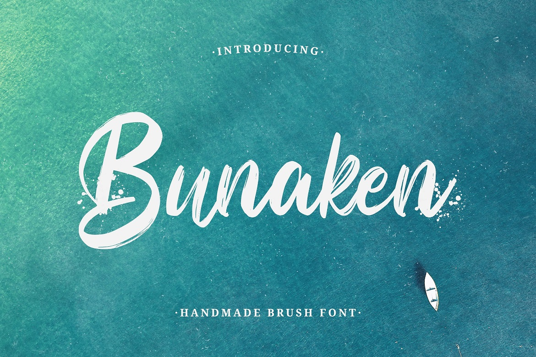 Bunaken Brush Script Font -1
