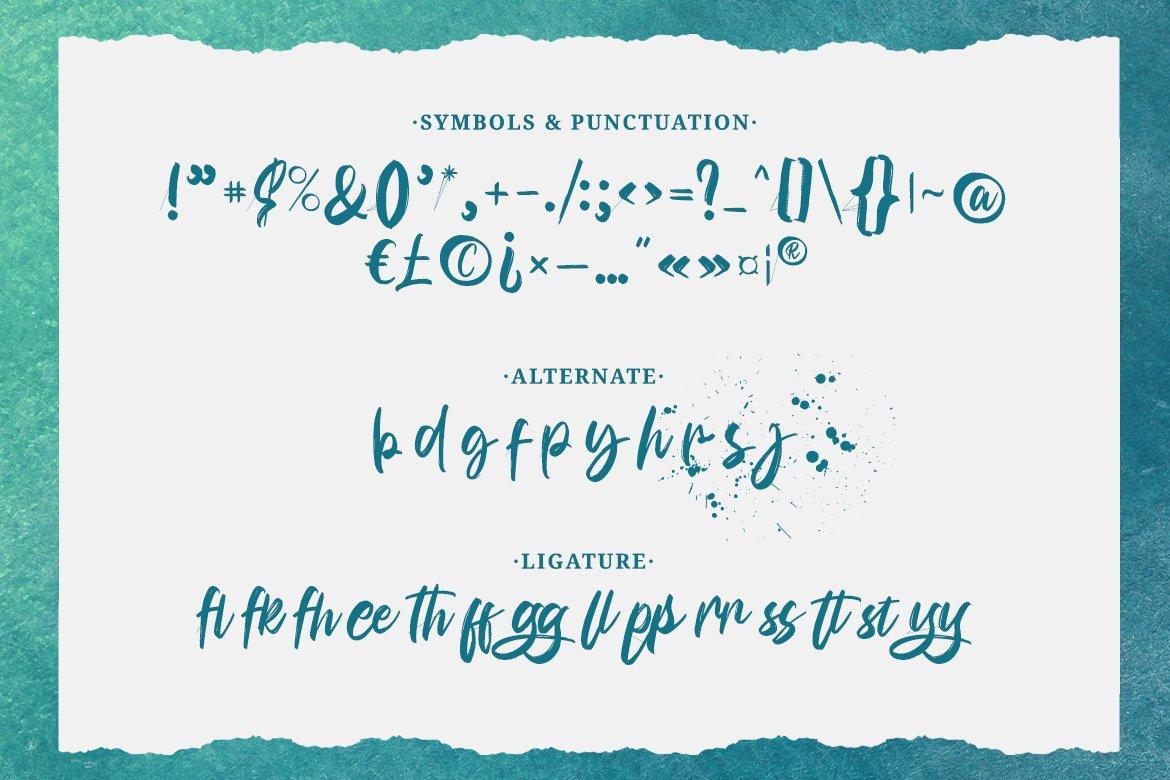 Bunaken Brush Script Font -3