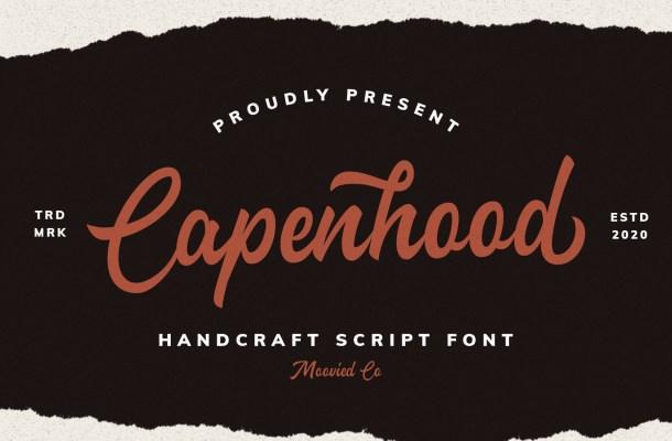 Capenhood Font