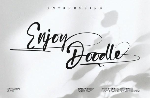 Enjoy Doodle Font