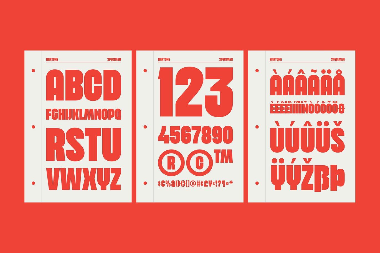 Hartone Bold Display Font -3