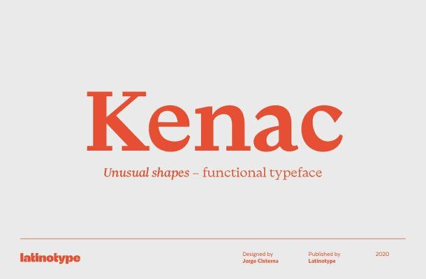 Kenac Font