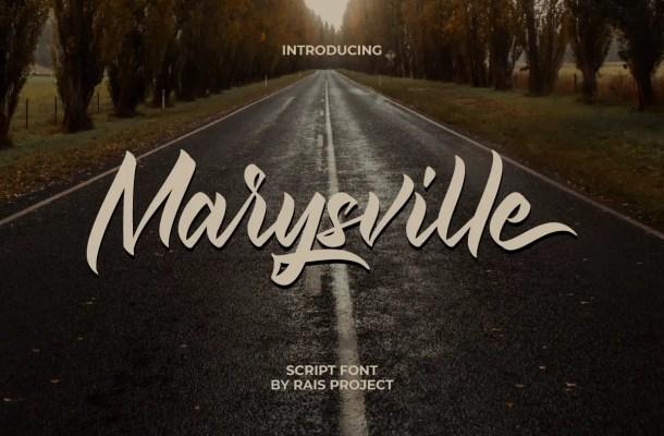 Marysville Font