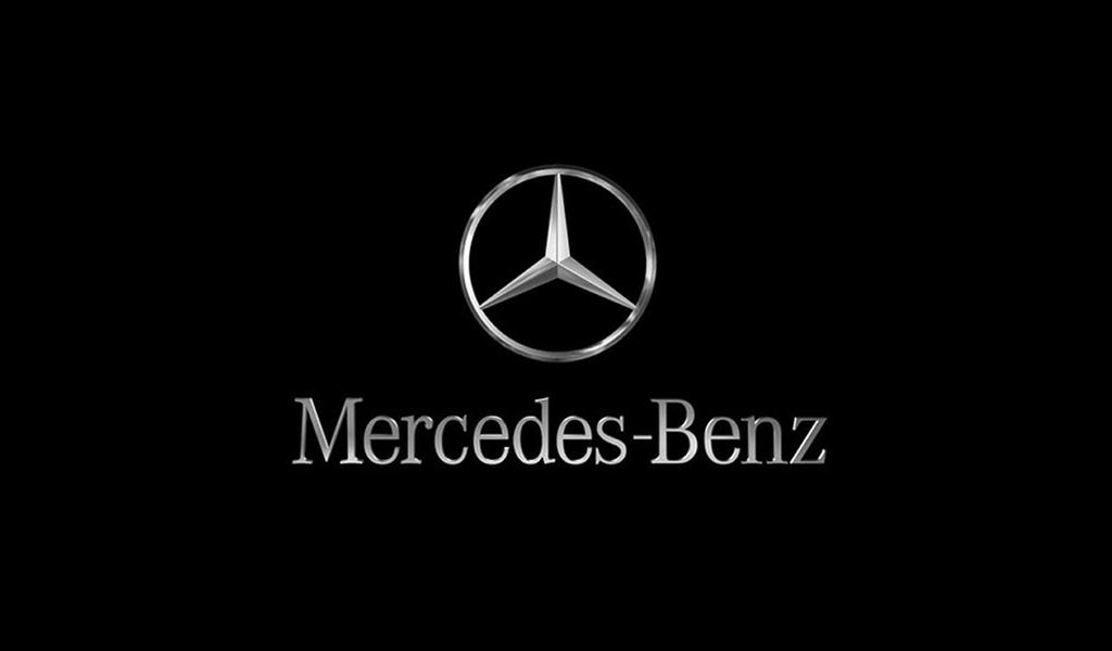 Mercedes Benz Logo Font -1