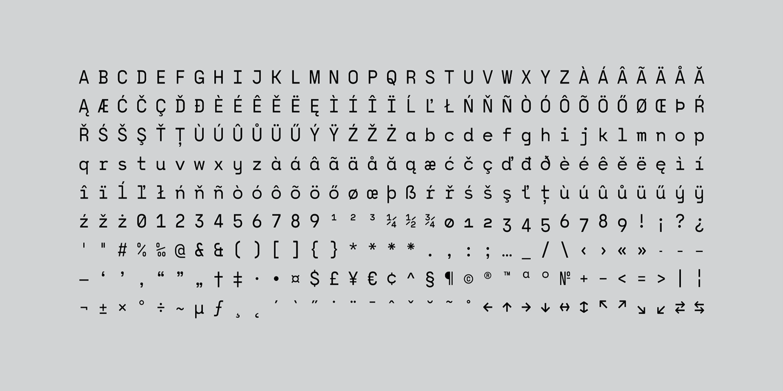 Monograf Bold Sans Serif Font -3