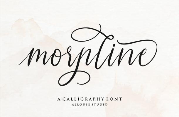 Morpline Font