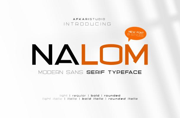 Nalom Font Family
