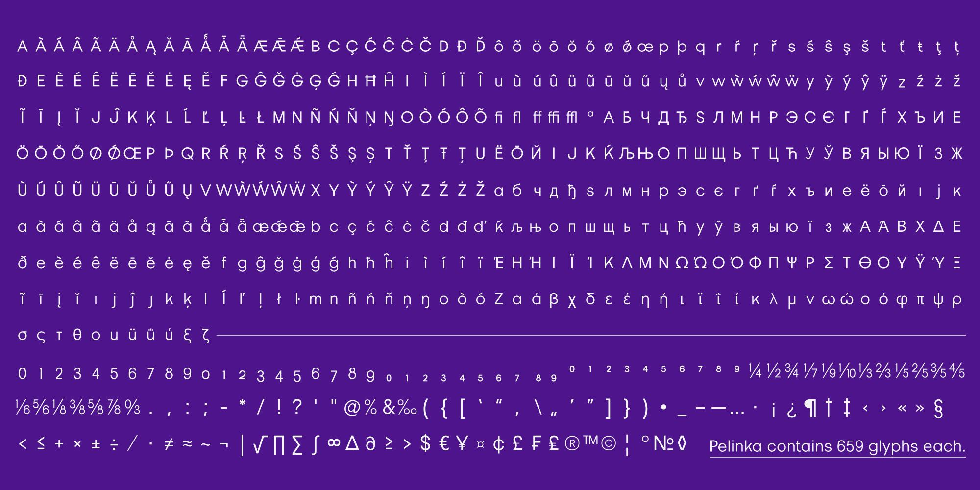Pelinka Geometric Sans Serif Font -3