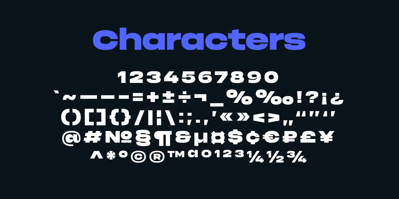 Phonk bold Sans Font -3
