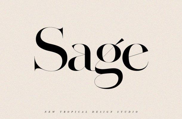 Sage Font