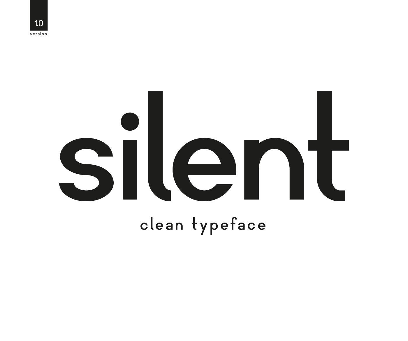 Silent Sans Serif Font -1