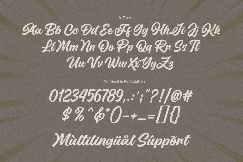Special Ramen Modern Retro Font -3