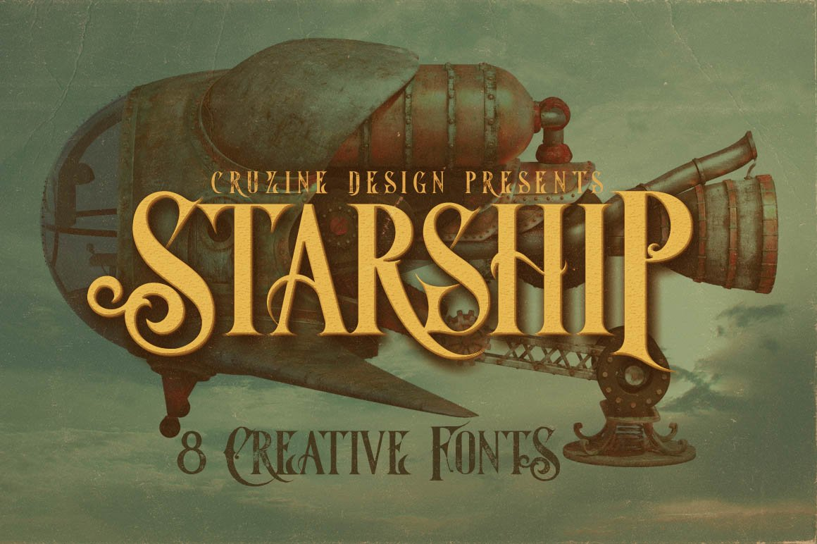 Starship Display Typeface -1