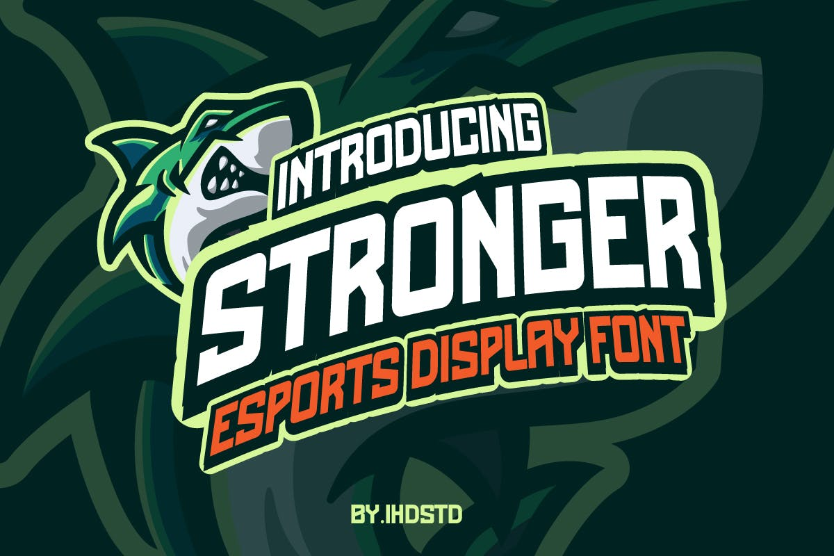 Stronger EsportsDisplay Font -1