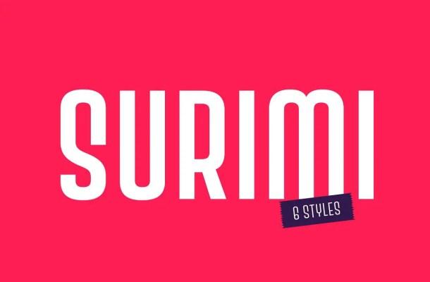 Surimi Font