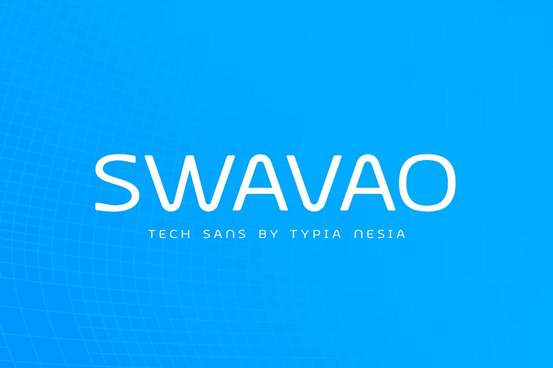 Swavao Tech Sans Font -1