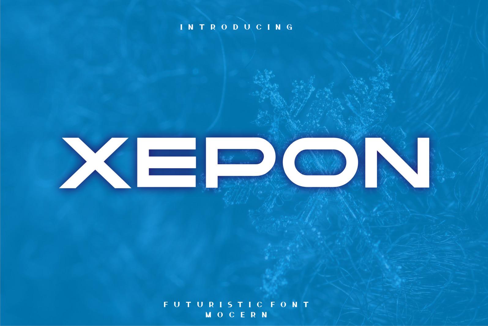 Xepon Display Font -1