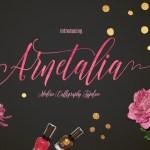 Arnetalia Font Free