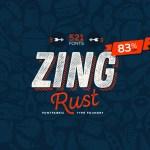Zing Rust Script Font