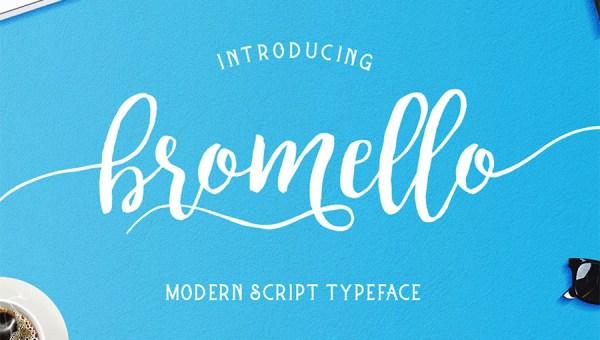Bromello Script Font