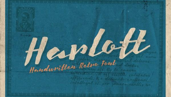 Harlott Font Free