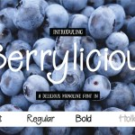 Berrylicious Font Family Free