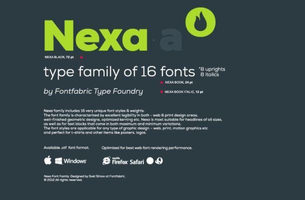 Nexa Font Free