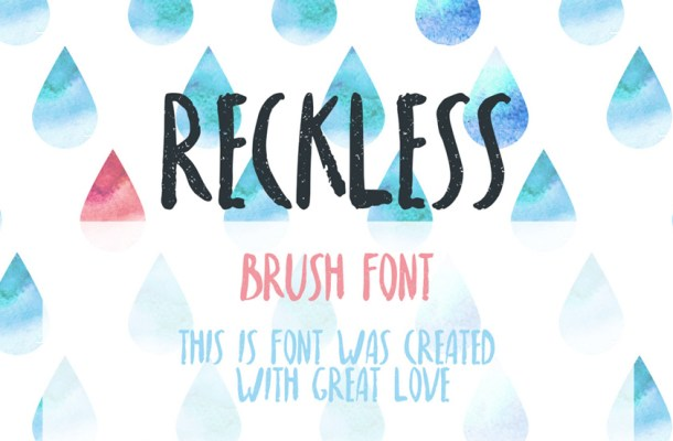 Reckless Font Free