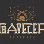 TRAVELER Font + Bonus