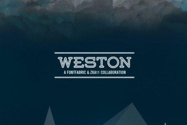 Weston Font Free