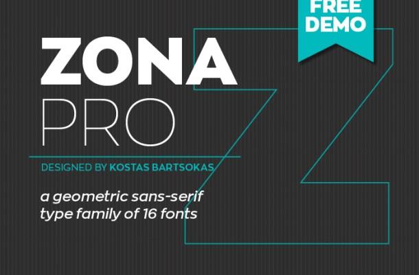 Zona Pro Free Font
