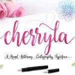 Cherryla Script Font