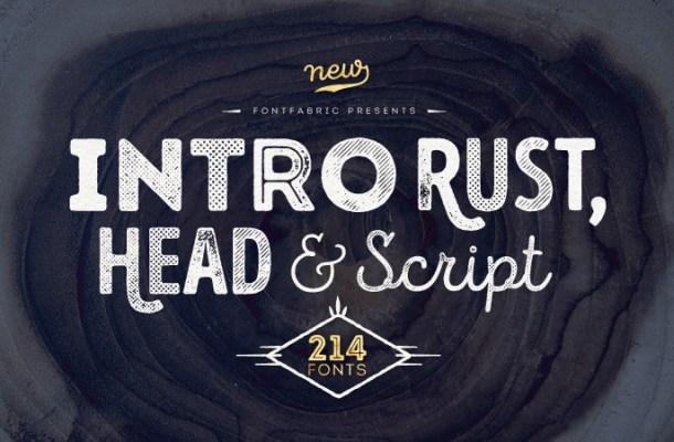 Intro Rust Font Free