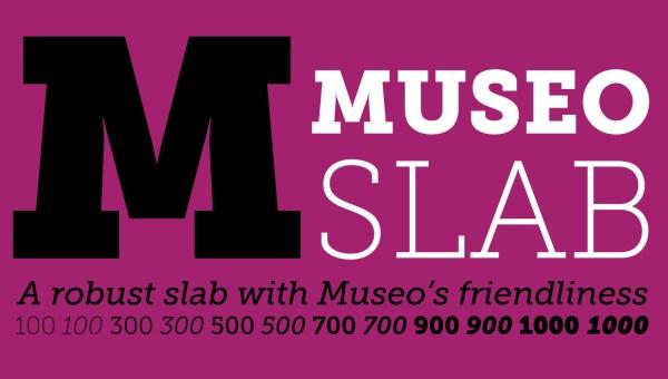 Museo Slab Font Free