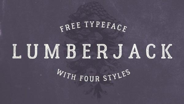 Lumberjack Font Free