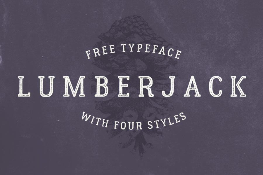 01-Lumberjack-Free-Font