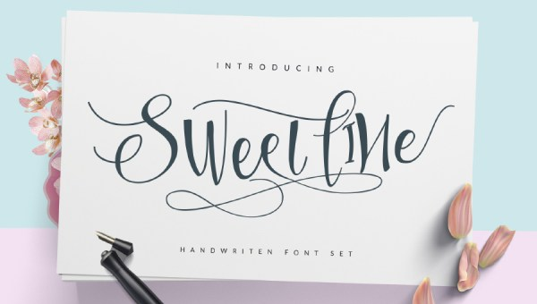 Sweetline Script Font Free