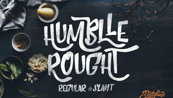 Humblle Rought Font Free