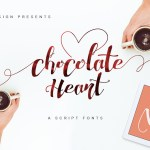 Chocolate Heart Font