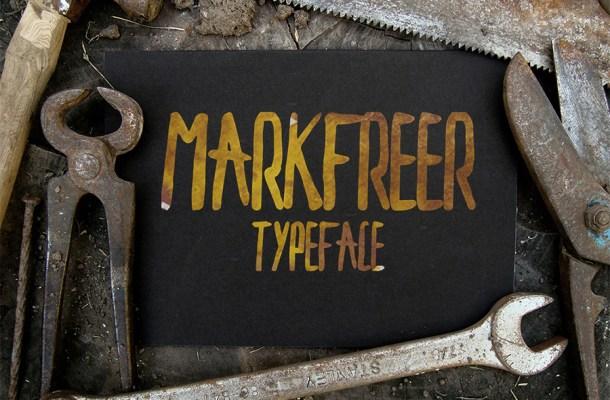 Markfreer Font Free