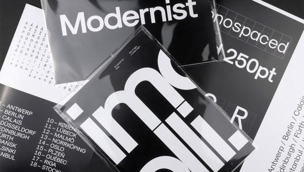 Modernist Font Free