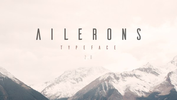 Ailerons Font Free