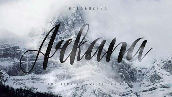Arkana Script Vintage Font