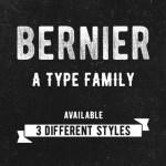 Bernier Font Family