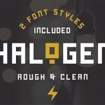 Halogen Font Free