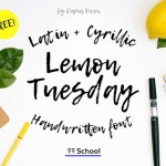 Lemon Tuesday Font
