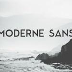 Moderne Sans Font Free