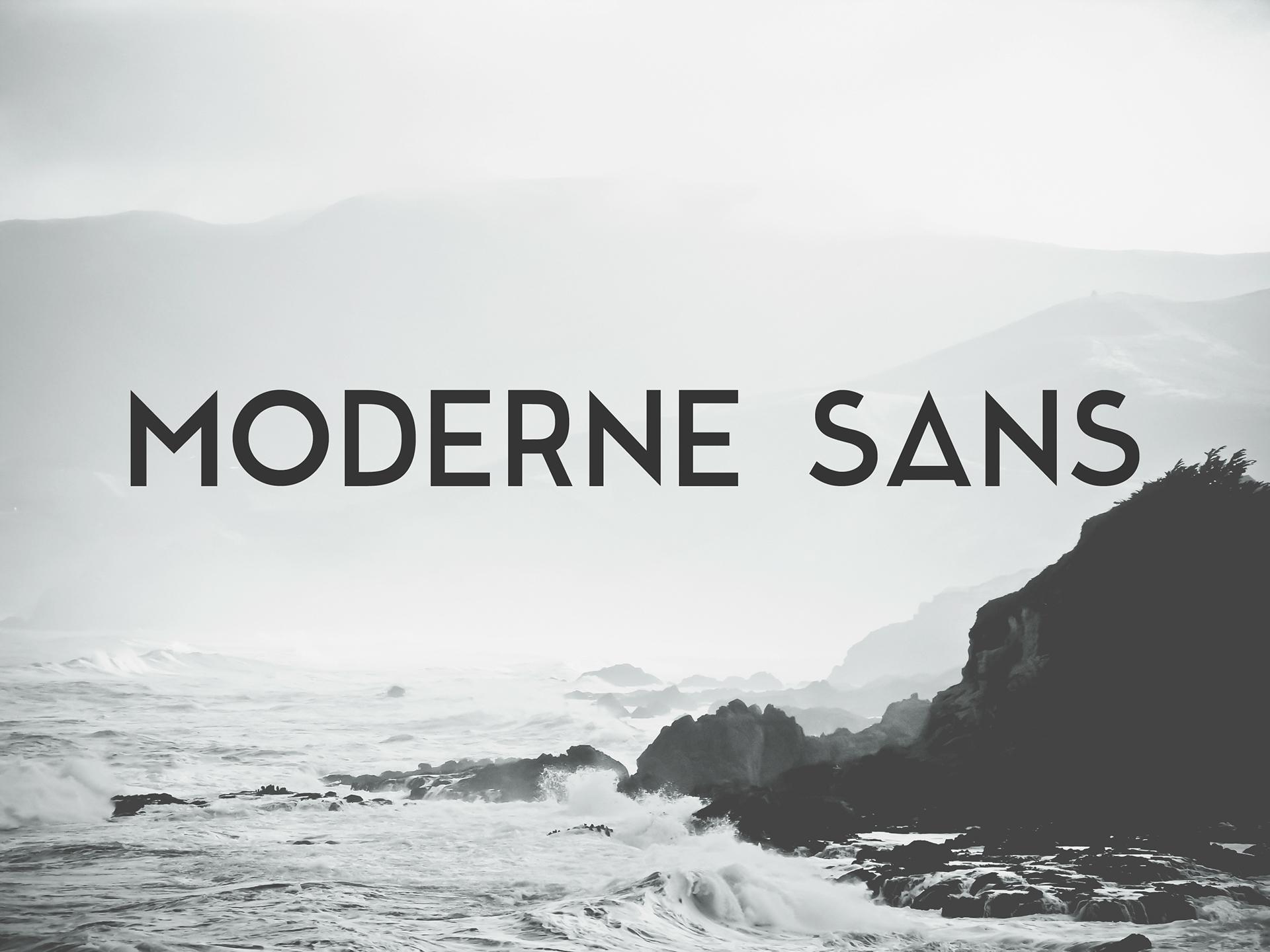 Moderne Sans