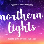 Northern Lights Font Free