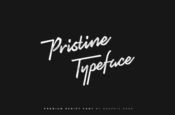 Pristine Script Font Free